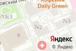 Схема проезда до компании Wall Street в Москве