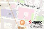 Схема проезда до компании Содействие в Москве