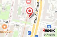 Схема проезда до компании Lanucci в Москве