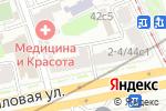Схема проезда до компании Sky Nails в Москве