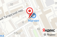 Схема проезда до компании Бизнеспром в Москве