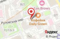 Схема проезда до компании Синклер в Москве