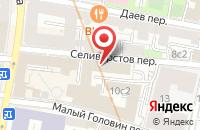 Схема проезда до компании Загрей в Москве