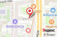 Схема проезда до компании Адвиэмджиэн Продакшн в Москве