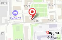 Схема проезда до компании Оргкомитет Парикмахеров и Постижёров в Москве