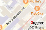 Схема проезда до компании Сальвадор Трэвел в Москве