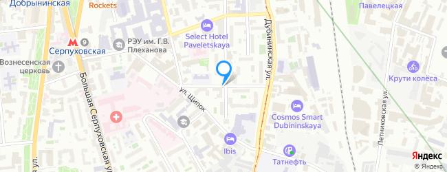 Малый Строченовский переулок