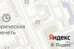 Схема проезда до компании Мегаполис-Экспресс в Москве