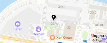 DELLSON на карте Москвы