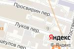 Схема проезда до компании Центр промышленной безопасности в Москве