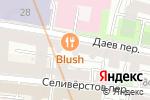 Схема проезда до компании Moroni в Москве