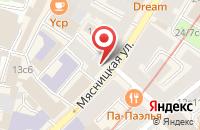 Схема проезда до компании Торговый Дом «Сплавтехнология» в Москве