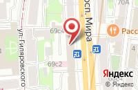 Схема проезда до компании Ид «Галерия» в Москве