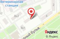 Схема проезда до компании Аналит в Москве