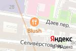 Схема проезда до компании Лисья нора в Москве