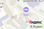Схема проезда до компании 1С-СофтКлаб в Москве