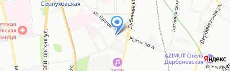 1С-СофтКлаб на карте Москвы