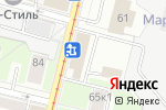 Схема проезда до компании Glacetech в Москве