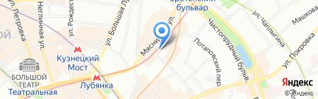 Галерея-авиа на карте Москвы