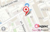 Схема проезда до компании Бонэль-Вернэ в Москве