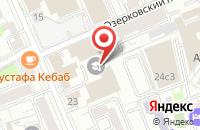 Схема проезда до компании Сокап Медиа в Москве