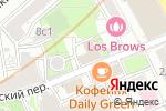 Схема проезда до компании КБ Внешфинбанк в Москве