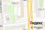 Схема проезда до компании ОТК в Москве