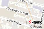 Схема проезда до компании РусТранс в Москве