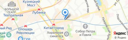 КФ Русич на карте Москвы