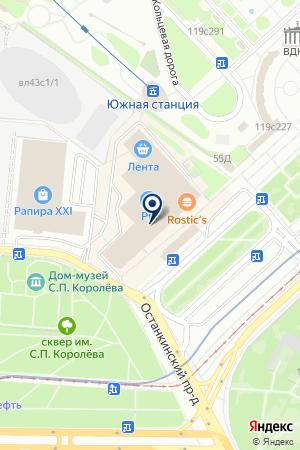 BALTIC BRIDGE на карте Москвы