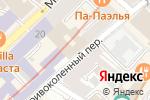 Схема проезда до компании Мастер Отдыха в Москве