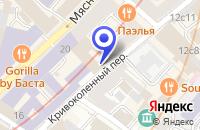 Схема проезда до компании ТФ ВЕНЕЦИЯ в Москве