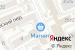 Схема проезда до компании Evocati Advisers в Москве