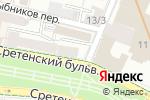 Схема проезда до компании I Like Craft в Москве