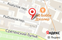 Схема проезда до компании ЭлитПартнер в Москве