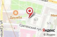Схема проезда до компании Р-Стройинвест в Москве