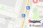 Схема проезда до компании Км/ч в Москве