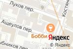 Схема проезда до компании Везде.ру в Москве