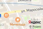 Схема проезда до компании Марис в Москве