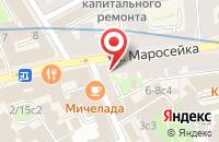 Схема проезда до компании Талер в Москве