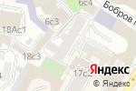 Схема проезда до компании Орхидея в Москве
