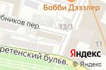 Схема проезда до компании Банк Развития Технологий в Москве