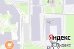 Схема проезда до компании РГСУ в Москве