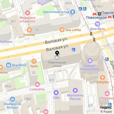 Castrol BP на карте Москвы