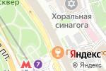 Схема проезда до компании Билетная касса на Лубянском проезде в Москве