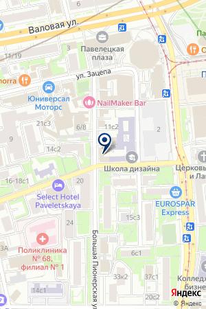ПРОДОВОЛЬСТВЕННЫЙ МАГАЗИН АРС-ТЕСТ на карте Москвы
