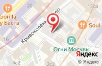 Схема проезда до компании Здоровый образ жизни в Москве
