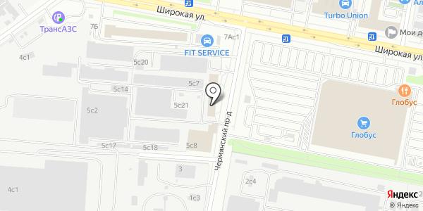 Твстрой. Схема проезда в Москве