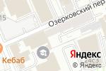 Схема проезда до компании Муза в Москве
