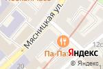 Схема проезда до компании ПРИОРИТЕТНОЕ СТРАХОВАНИЕ в Москве